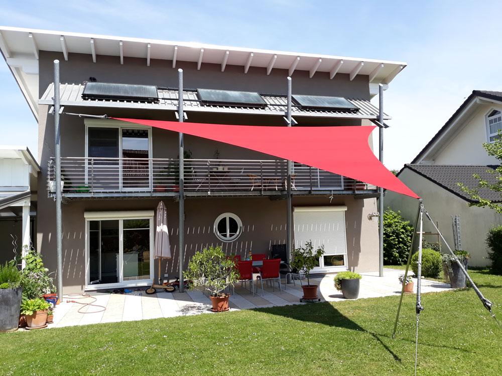 aerosun® 180 Dreieck Sonnensegel wasserdicht, sturmsicher