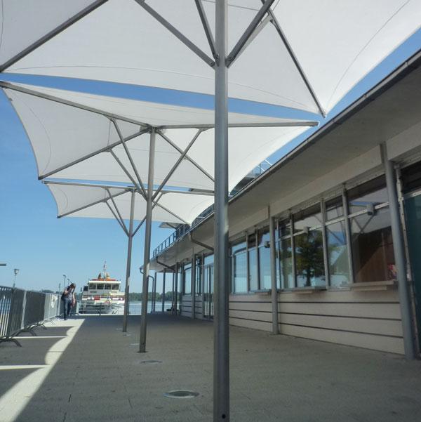 Schirm aeronautec aerosun Architekturschirm, Grossschirm