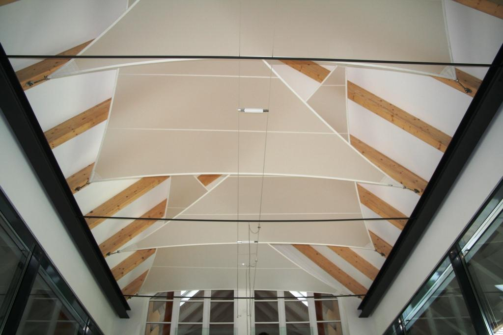 aeronautec aerosystem Licht- und Akustiksegel für den Innenbereich, Innenarchitektur, Interior Design