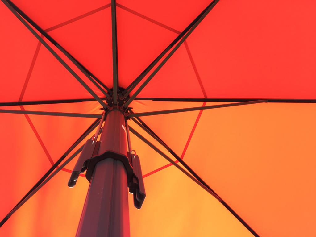 aeronautec Allwetterschirm Sonnenschirm Bahama, sturmsicher, barrierefrei