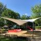 aeronautec Objektbau, Membranbau- Überdachung Veranstaltungen aus PVC, Spielplatz